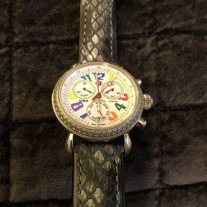 Michele Accessories - Michele csx diamond carousel watch